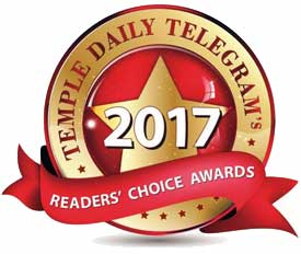 Temple Daily Telegram Readers Choice Award