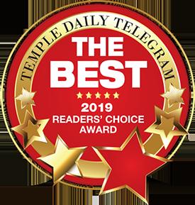 Temple Daily Telegram Readers Choice Award